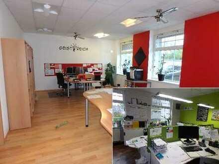 Großzügiges Büro * Gewerbe ca. 91 qm im Erdgeschoss, PKW-Stellpl.*Garage möglich !