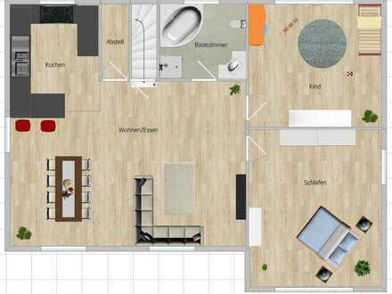Attraktive 3-Zimmer-Wohnung in Stangenroth