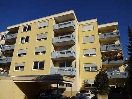 Gut eingeteiltes und bald freies Apartment mit Küchenzeile und Waschmaschine in Bad Kreuznach Nord