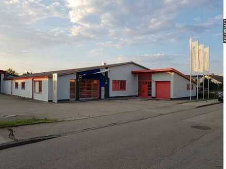 VORANKÜNDIGUNG - Bürogebäude im Industriegebiet