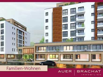 Geräumige 4-Zimmer-Wohnung  am Stadtgarten, 3. OG