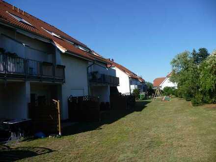 Single-Terrassen-Wohnung, gut saniert, Duschbad, ansprechendes Ambiente - Gartenstadt Möser