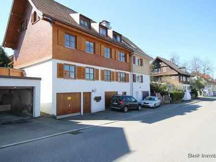Wohnen mit Garten - Erdgeschosswohnung mit 3 Zimmern, Garten und Garage in Kempten