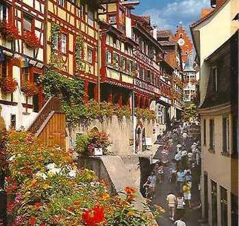 Bodensee, Gaststätte mit Aussensitzplätzen u. einer 1 Zimmerwohnung, Oberstadt Meersburg