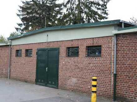 kleine Halle 91m² Lagerfläche, kurzfristig frei