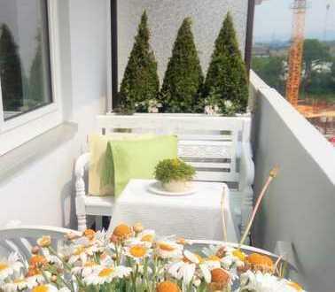 Sonnige 3-Zimmerwohnung mit wunderschöner Aussicht