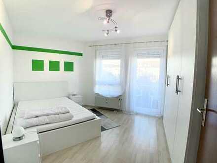 Vollausgestattete 2-Zimmer-Wohnung mit Einbauküche & TG in Ludwigshafen möbliert und pauschal