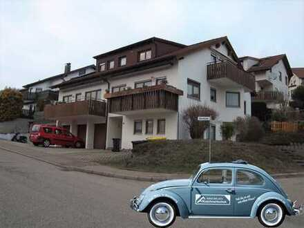 2-Zimmer-EG-Wohnung mit Terrasse, EBK und Einzelgarage