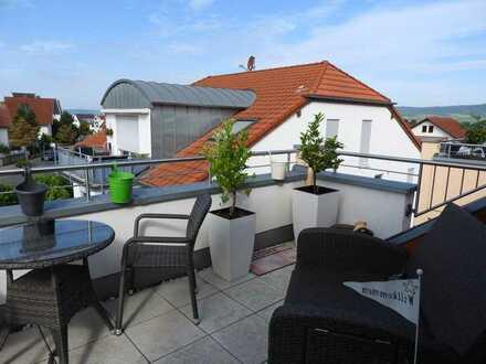 Moderne 3-Zi-Dachgeschosswohnung mit Sonnenterrasse in Ingelheim