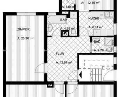 Gepflegte 4-Zimmer-Wohnung mit EBK in Heilbronn