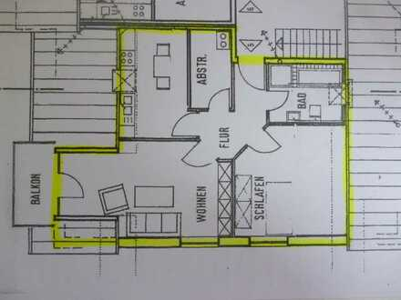2-Zimmer-Wohnung mit Balkon in Lingen/Ems Stadtteil Darme