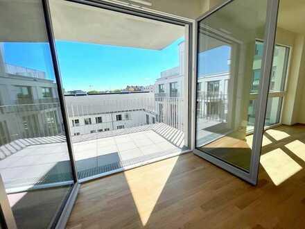 WE3.06   Neubau! 3-Zimmer-Wohnung mit EBK und Süd-Balkon zwischen Donau und Innenstadt! Frei!