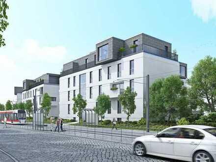 Gemütliche, neuwertige 2-Zimmer-Hochparterre-Wohnung mit Balkon und Einbauküche in Erfurt