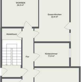 Sonnige Ergeschosswohnung mit Terasse und Garten in Babenhausen