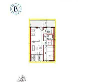 Ab Sommer 2019: Traumhafte 2-Zimmer Wohnung in genossenschaftlichem Neubauprojekt