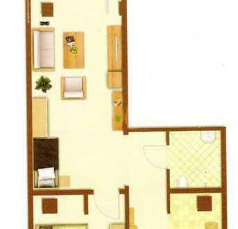 Stilvolle, geräumige und sanierte 73qm 2-Zimmer-Wohnung mit Balkon und Einbauküche in Stuttgart