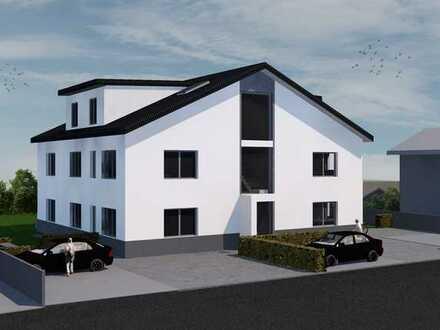 WE5 Helle weitläufige Dachgeschosswohnung mit großem Balkon