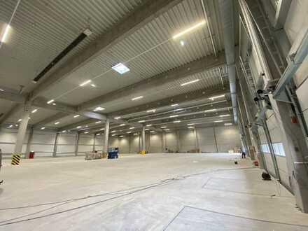 Individuell ausbaubare Produktions-/Lagerfläche mit Büroräumen **Neubau**