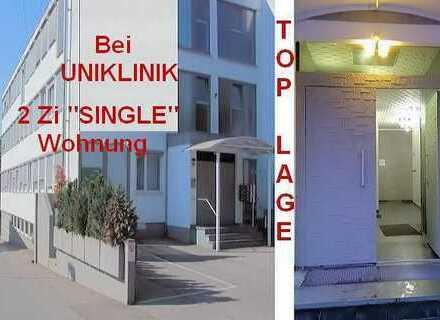 """1a TOPLAGE bei UNI-Klinikum, 2 Zi - 57qm """"Single-Wohnung"""", Einkaufsmöglichkeiten Bus/Bahn zu Fuß!"""