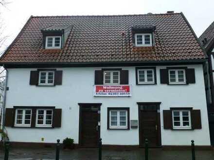 Zentral gelegene 3,5 Zimmer Wohnung im Fachwerkhaus von privat zu vermieten
