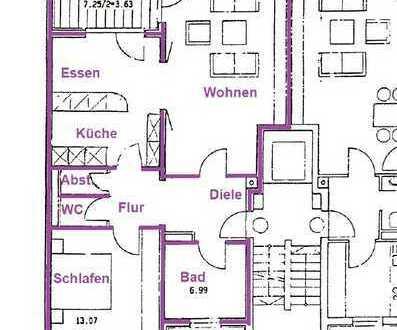 """""""OASE im GRÜNEN"""" Helle 2 Zimmerwohnung / München am Wartburgplatz"""