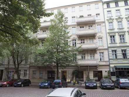 3 Zi und 2 Balkone im 2.OG Vorderhaus
