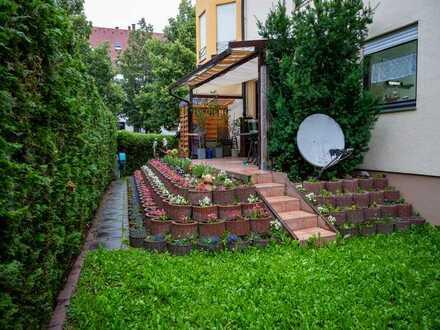 Wunderschöne große Gartenwohnung mit Möglichkeit zur Teilung