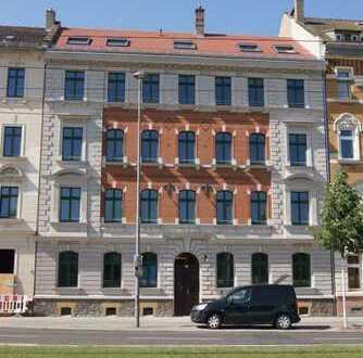 Genial! Südwest-Balkon + Parkett + Fußbodenheizung + tolles Bad mit Wanne & Dusche