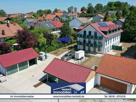 Schicke 3-ZKB-Neubau-Wohnung im 1. OG mit Balkon in ruhiger Lage!