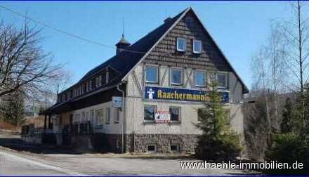 """Das """"Raachermannlhaus"""" im Kurort Seiffen. Wohn- und Geschäftshaus mit Zukunft"""