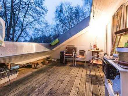 3 Zimmer DG Wohnung mit Dachterrasse in Ichenhausen