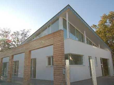 Architektonisch außergewöhnliches Haus in Grünlage.