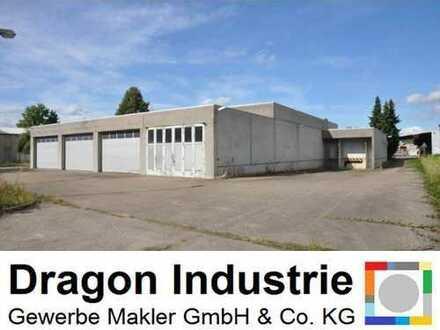 Produktions-/ Lagerhalle mit Büro- und Sozialräumen ca. 1.080 m² in Lahr - zu vermieten