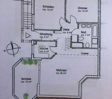 Gut vermietete Galerie-Wohnung zur Kapitalanlage in Grünwald bei München