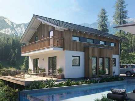 Bauen Sie mit Schwabenhaus - schlüsselfertiges Einfamilienhaus