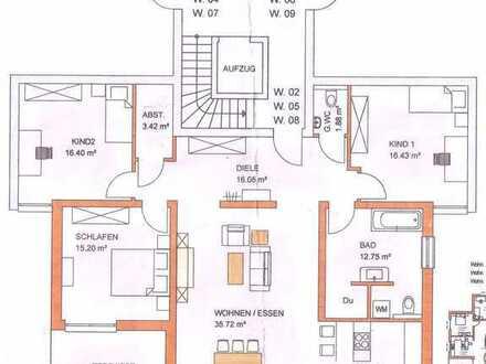 Erstbezug mit EBK und Balkon: attraktive 4-Zimmer-Wohnung in Dauchingen im 1. OG