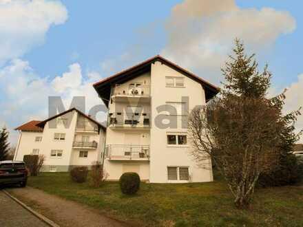 Sehr ruhig gelegene 3-Zi.-ETW mit Balkon und Pkw-Stellplatz in Ortsrandlage von Pirmasens