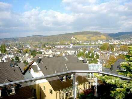 2 1/2 Zimmer über den Dächern von Bad Breisig mit fantastischem Ausblick - dennoch zentrumsnah