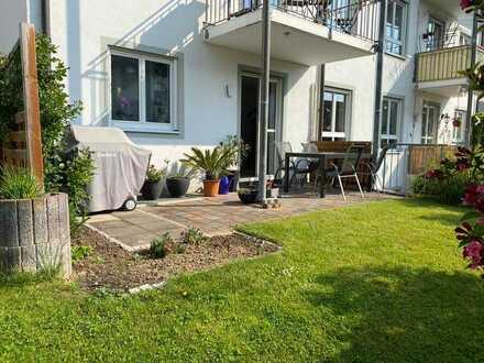 3,5 Zimmer-Erdgeschoßwohnung mit eigenem Gartenanteil