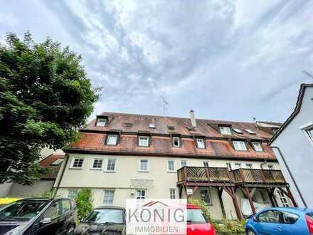 Für Kapitalanleger! Gemütliche 3 Zi-Whg in denkmalgeschütztem Gebäude auf 2 Etagen im Herzen von ...