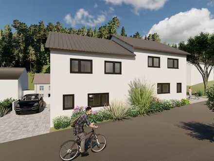 Exklusive Neubau Doppelhaushälften schlüsselfertig