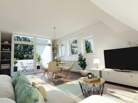 Exclusive 4-Zimmer-Maisonettewohnung in Augsburg-Pfersee, Nähe Hbf. und Wertach