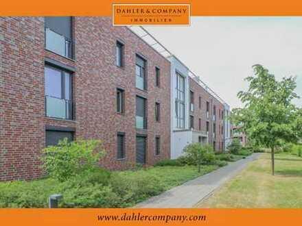 Moderne Wohnung mit Terrasse in jungem Wohnviertel