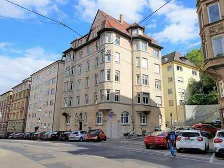 3-Zimmer-Wohnung in einem Kulturdenkmal im Stuttgarter Westen
