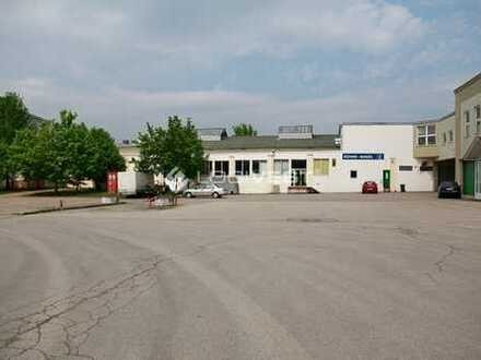 Lager-und Produktionshalle mit Freifläche