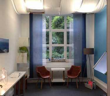 Heller, freundlicher Büro-/Coachingraum, ca. 20 qm, Nähe Lichtentaler Allee, Mietzeit: 1 Jahr