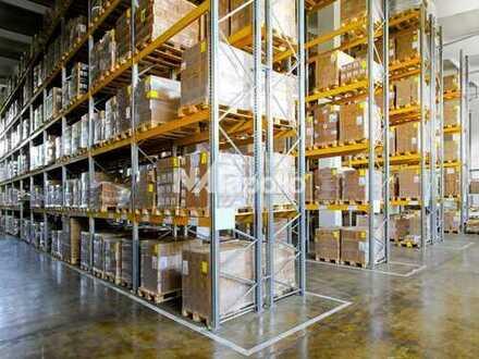1.000 Palettenplätze im Regal + Blocklager | 1.500 m² Lagerfläche | ebenerdig befahrbar | AB SOFORT