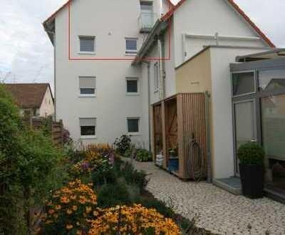 Exklusive, große 3,5 Zi Maisonette-Wohnung in Pfuhl, 95 qm, 2.OG, Bj.2009