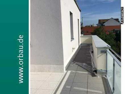 Eckwohnung mit einer Ausrichtung nach 3 Seiten + 10 m² (brutto) Loggia !
