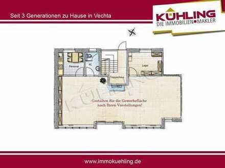 **NEUBAU Ladenlokal an Haupteinfallstraße in Vechta-Oythe**
